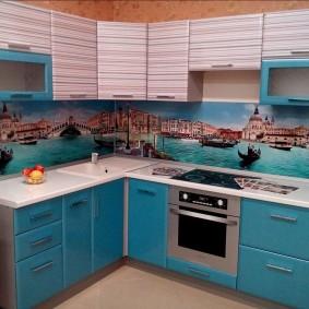 кухонный фартук из мдф фото дизайн
