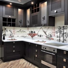 кухонный фартук из мдф идеи дизайна