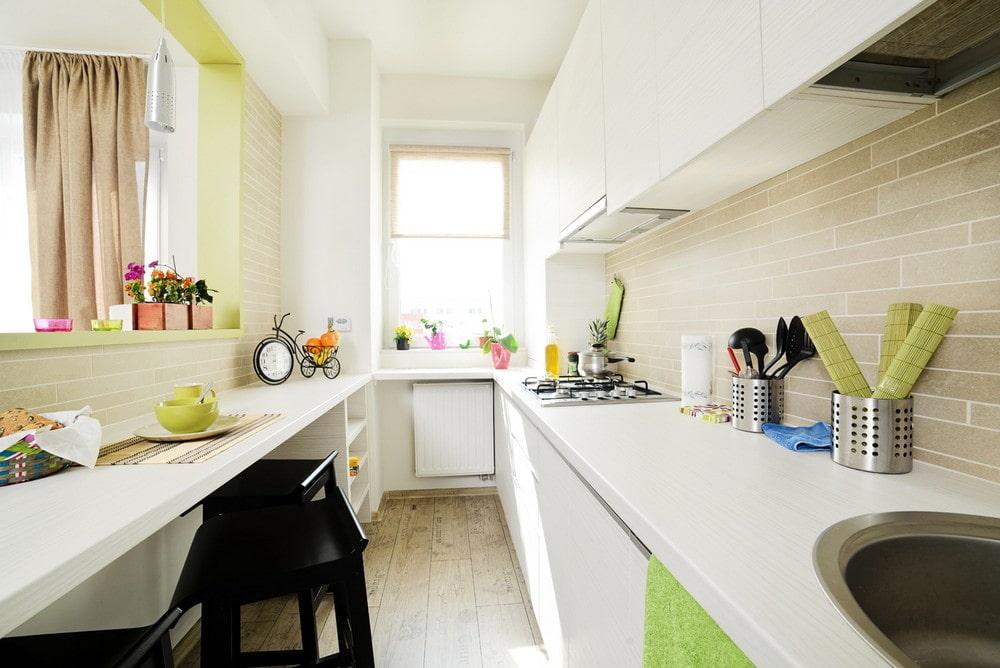 квартира 40 кв м кухня