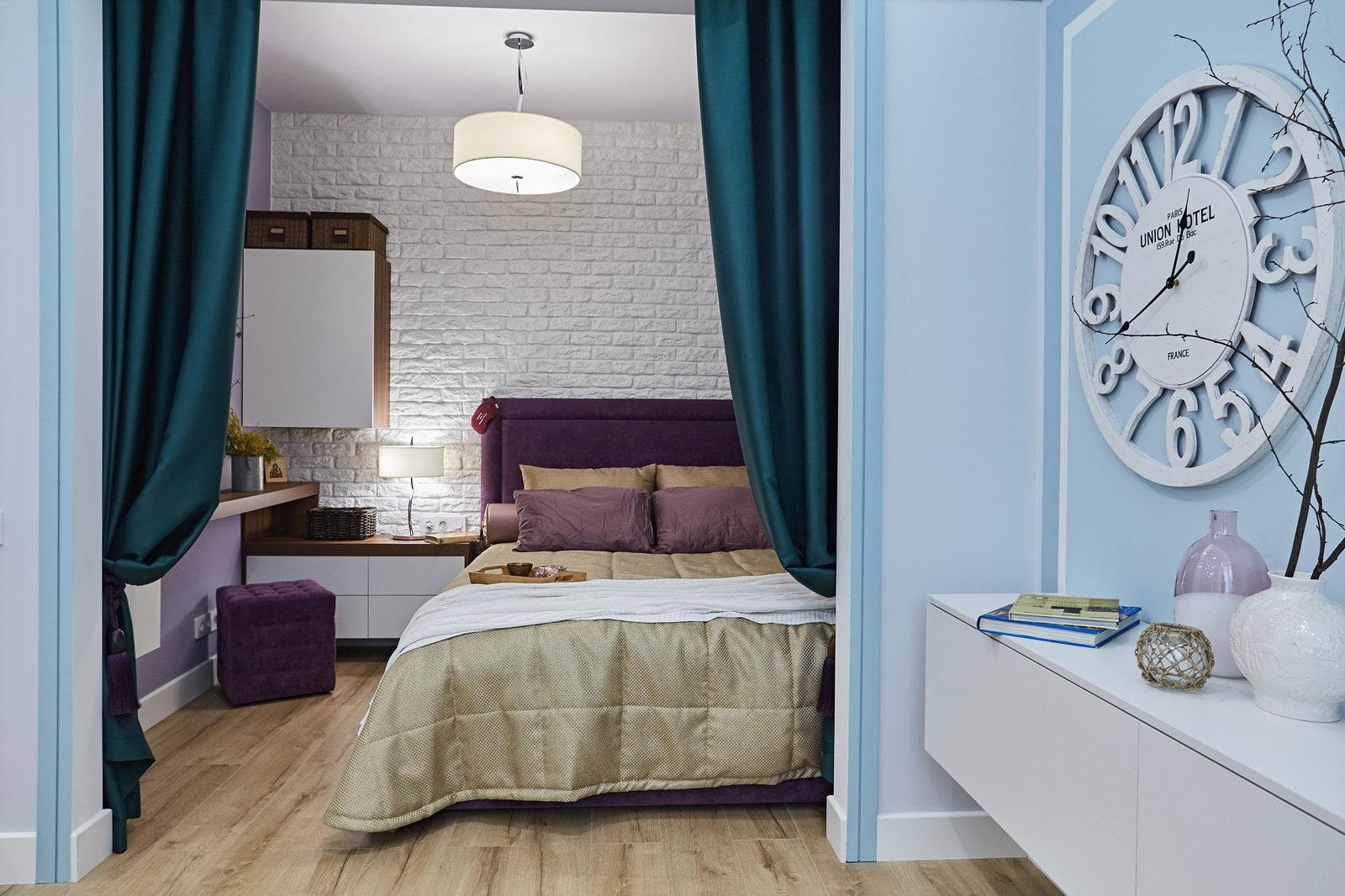 квартира 40 кв м спальня