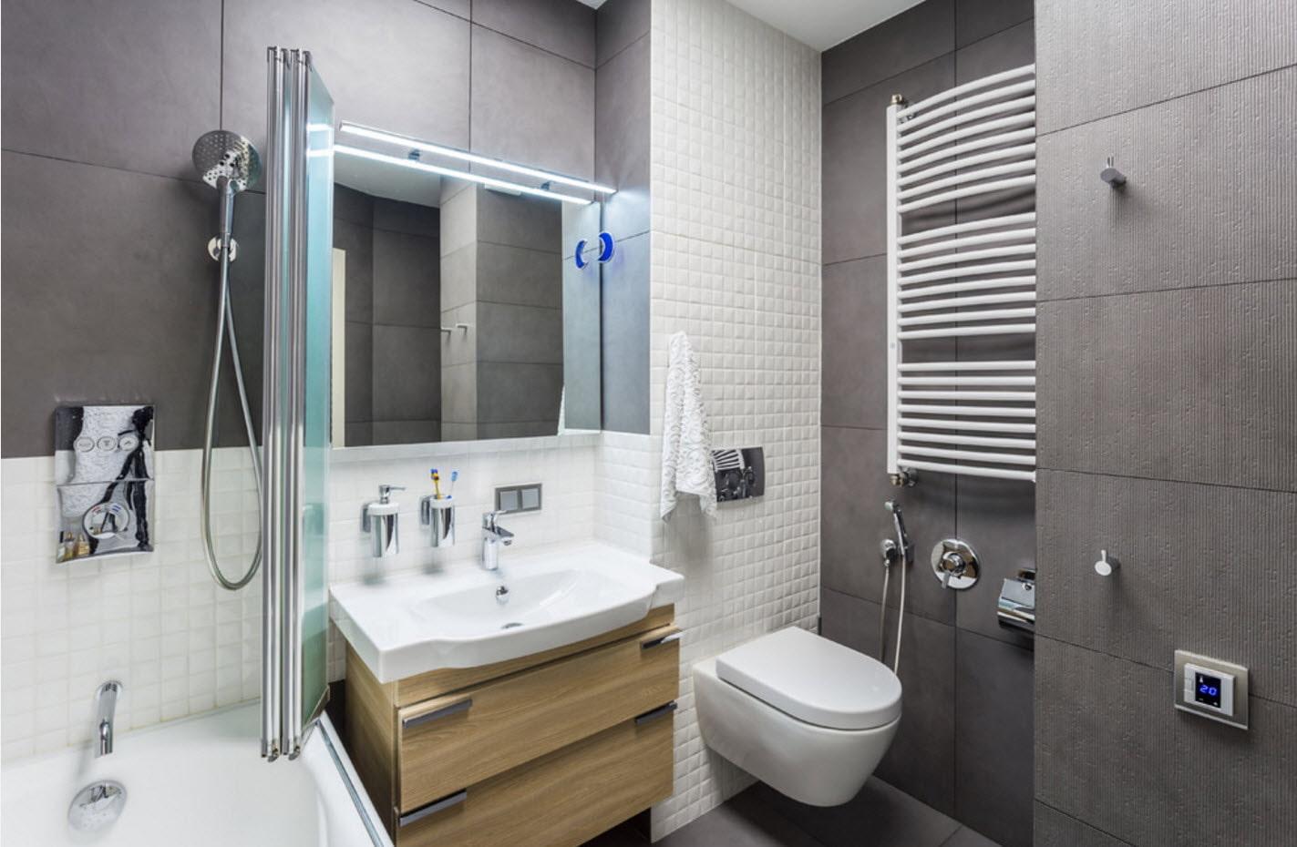 квартира 40 кв м ванная
