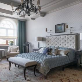 квартира в американском стиле спальная комната идеи