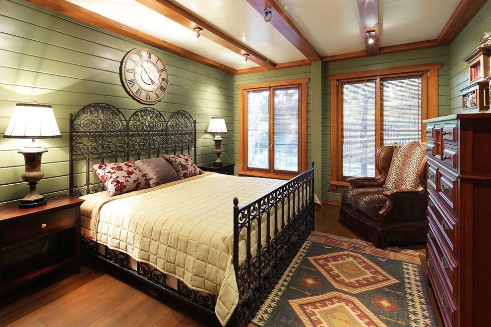 квартира в американском стиле спальня