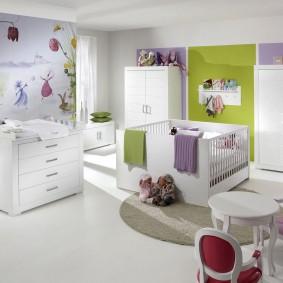 квартира в белом цвете идеи интерьер