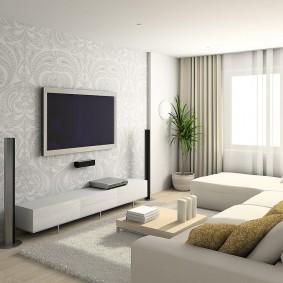 квартира в белом цвете фото декора