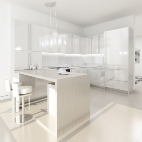 квартира в белом цвете идеи декор