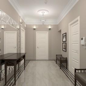 квартира в белом цвете интерьер идеи