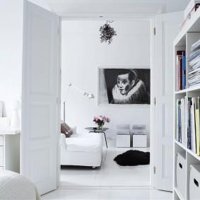квартира в белом цвете идеи фото