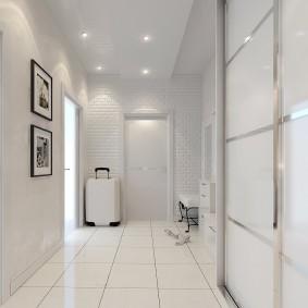 квартира в белом цвете фото оформления