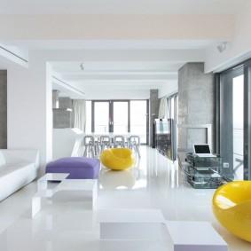 квартира в белом цвете идеи оформления