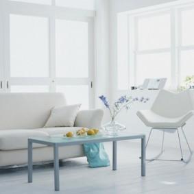 квартира в белом цвете виды