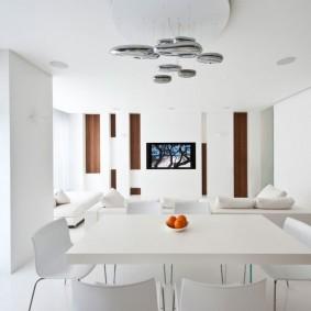 квартира в белом цвете обзор