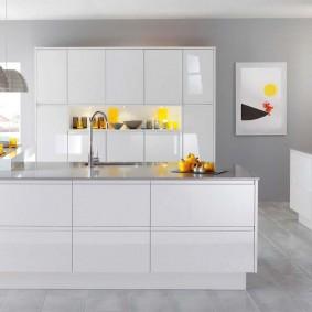 квартира в белом цвете виды дизайна