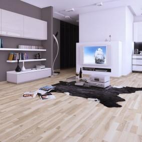 ламинат в гостиную фото дизайн
