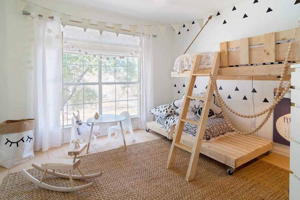 Деревянные детские кровати оригинального дизайна