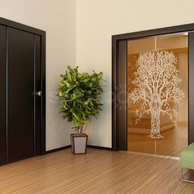 межкомнатные двери в квартире варианты идеи