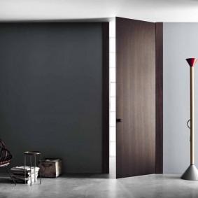 межкомнатные двери в квартире виды оформления