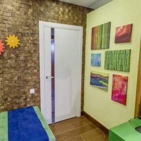 межкомнатные двери в квартире декор идеи