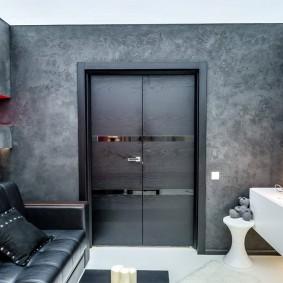 межкомнатные двери в квартире идеи декор