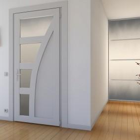 межкомнатные двери в квартире фото интерьера