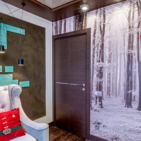 межкомнатные двери в квартире идеи интерьер