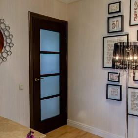 межкомнатные двери в квартире оформление