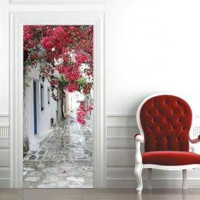 межкомнатные двери в квартире варианты фото