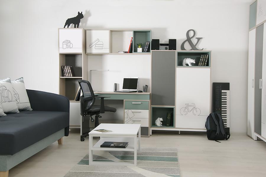 Модульная мебель для подростка от современного производителя