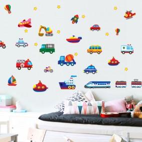 наклейки для детской комнаты декор