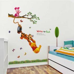 наклейки для детской комнаты идеи оформления