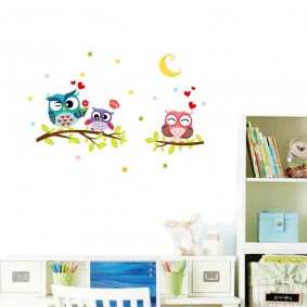наклейки для детской комнаты фото варианты