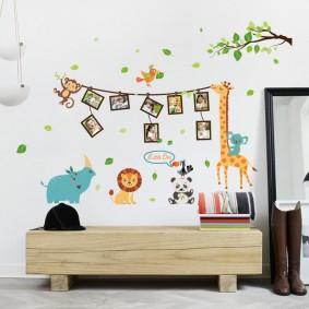 наклейки для детской комнаты фото дизайна