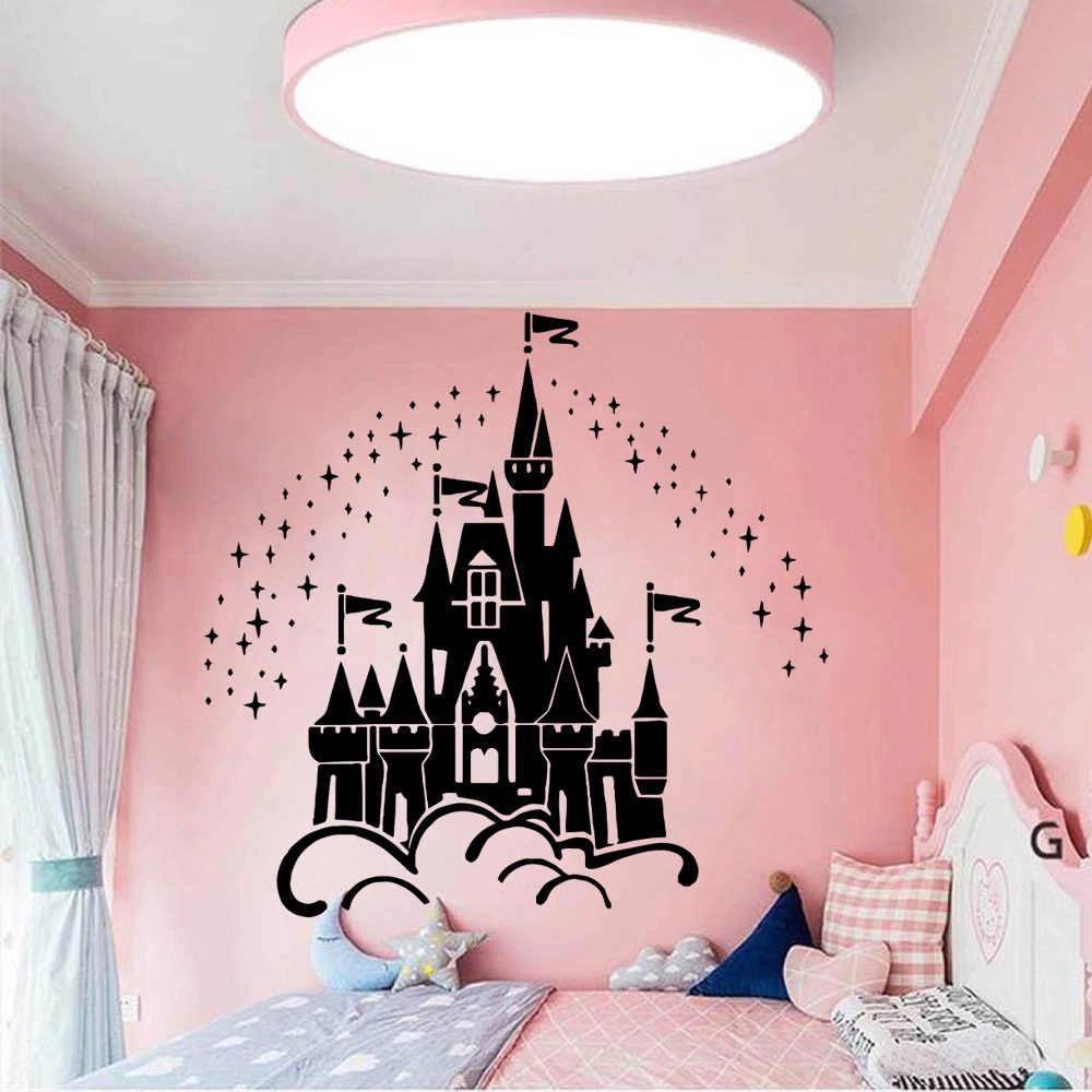 наклейки на стене в детской декор