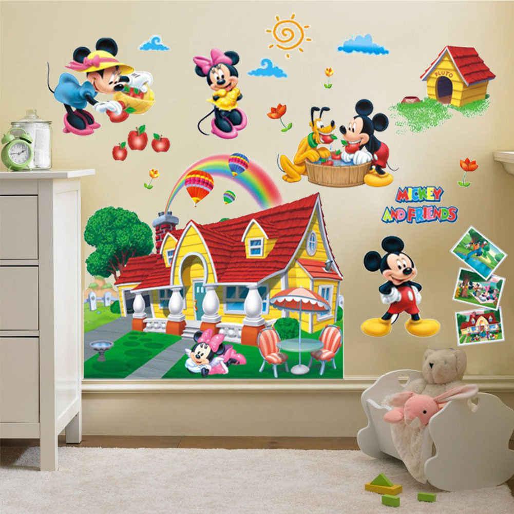 наклейки на стене в детской идеи дизайна