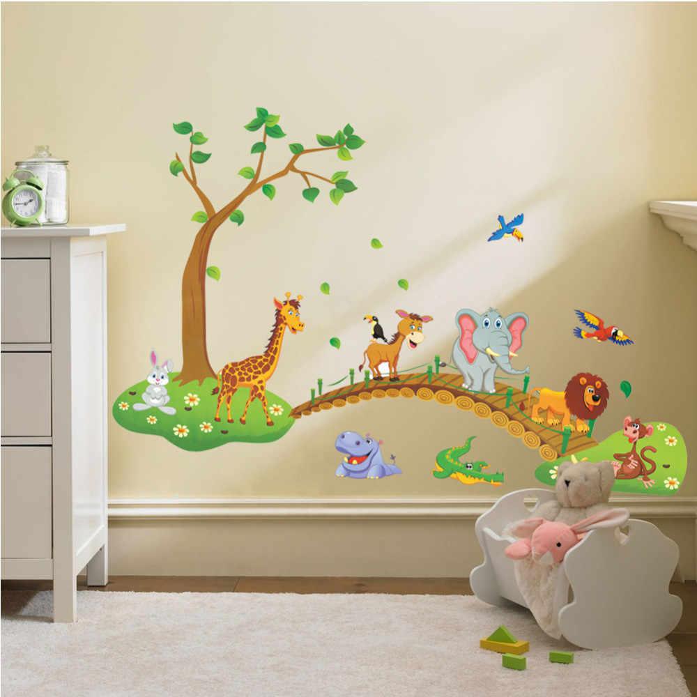 наклейки на стене в детской