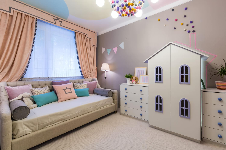 обустройство детской комнаты идеи фото