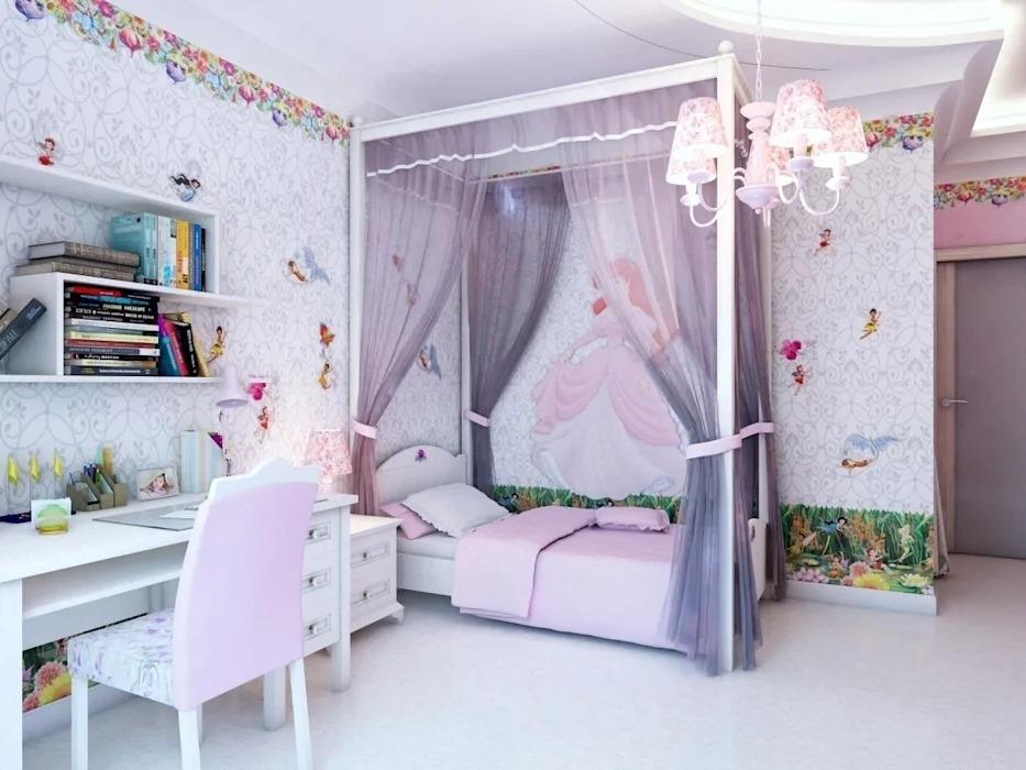 обустройство детской комнаты модерн