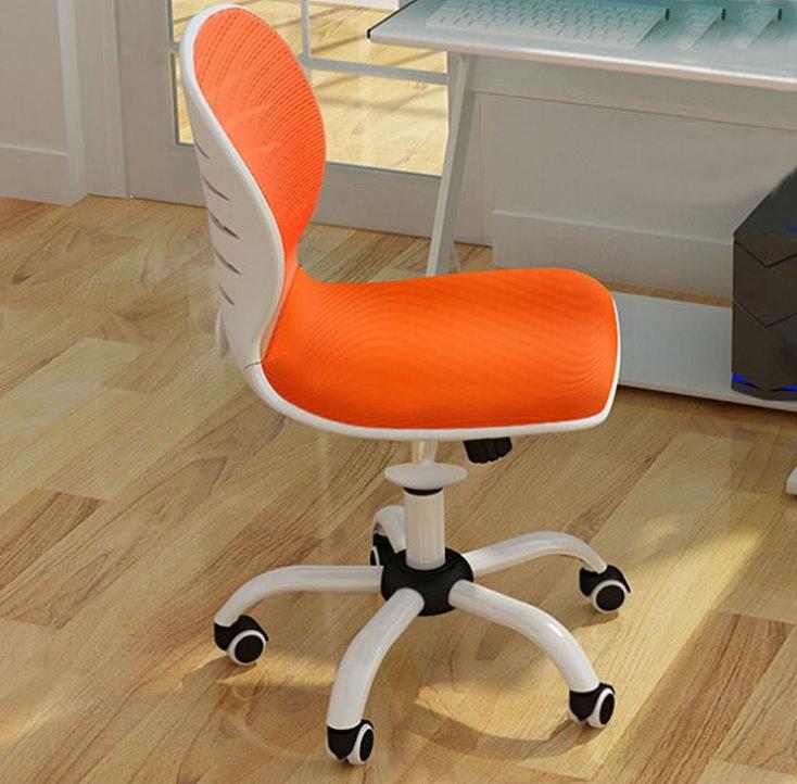 Оранжевая обивка ортопедического стула