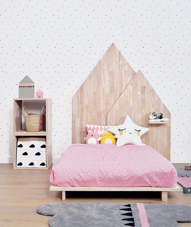 Детская кровать для девочки дошкольного возраста
