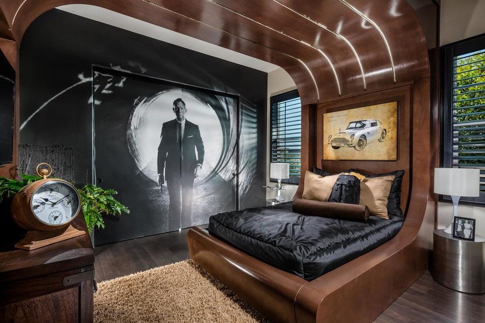 Стильная спальня для мальчика подросткового возраста