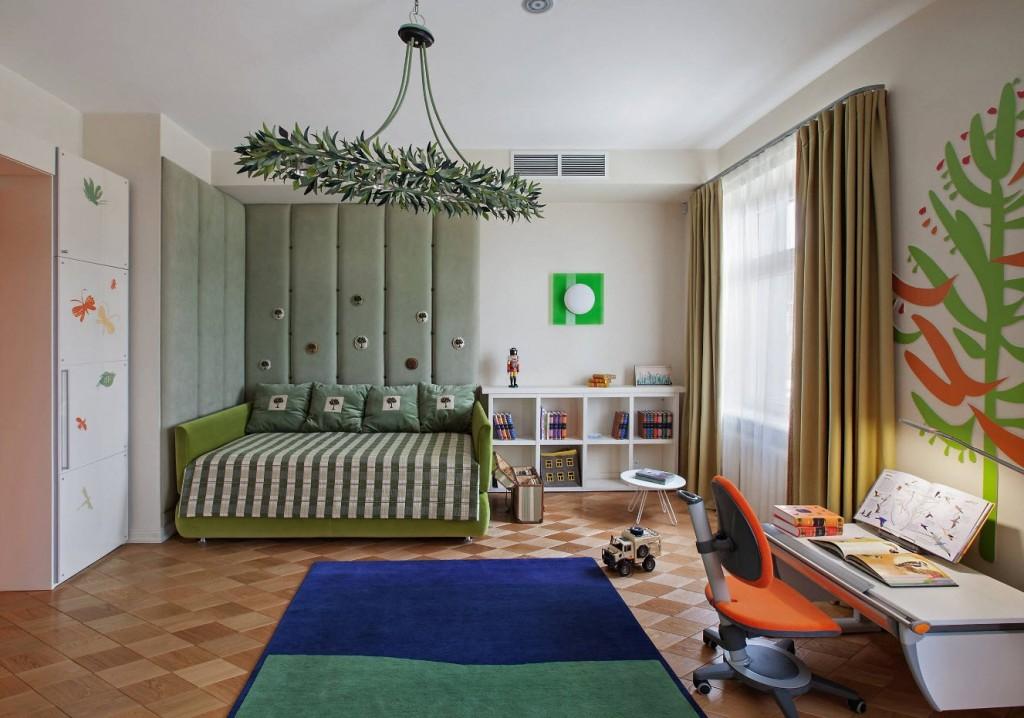 Мебель-трансформер в комнате школьника