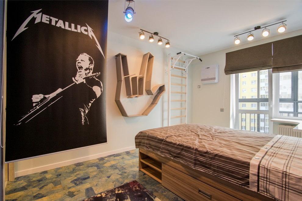Дизайн комнаты для юного меломана