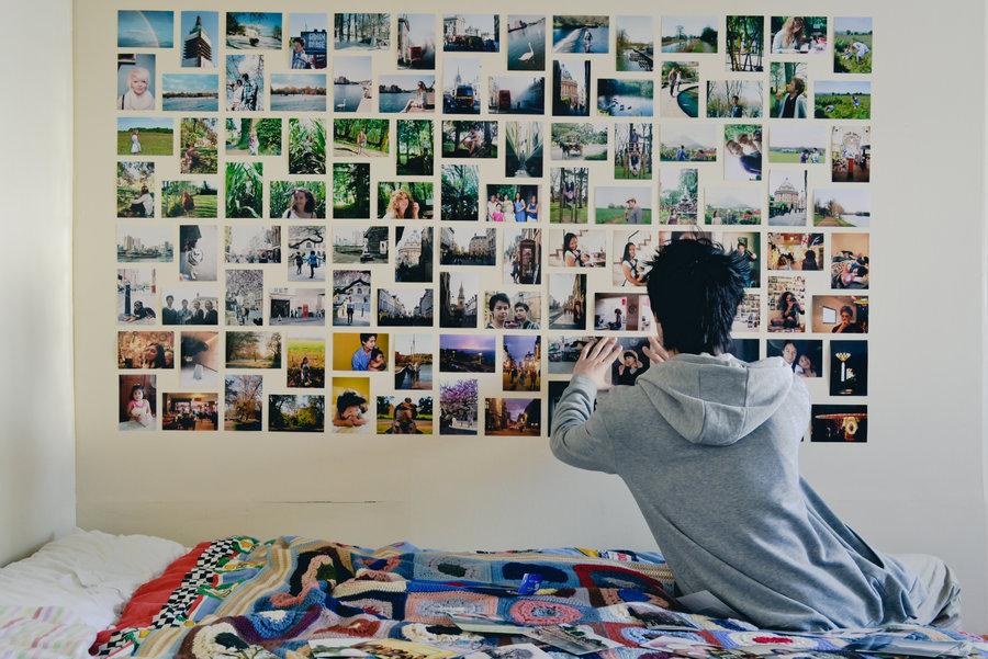 Коллаж из картинок на стену