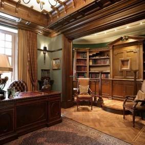 рабочий кабинет в квартире варианты