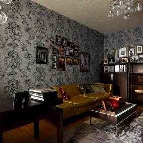 рабочий кабинет в квартире фото видов