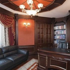 рабочий кабинет в квартире фото дизайн