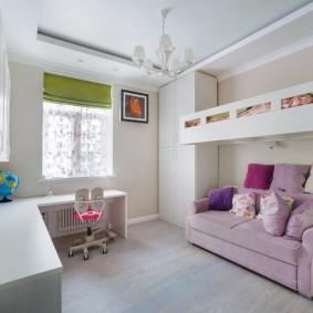 расстановка мебели в детской декор