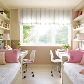расстановка мебели в детской фото декора