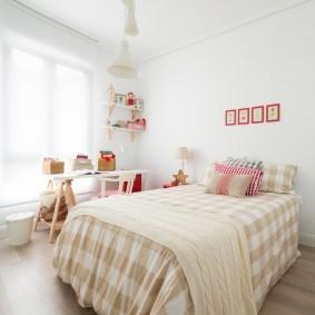 расстановка мебели в детской идеи декора