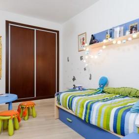 расстановка мебели в детской идеи